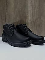 Мужские ботинки зимние из натуральной кожи EXTREME 308