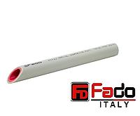 Труба ППР FADO армированная алюминием PN 20 20х3.4 мм