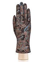 Модные женские перчатки кожаные в 6ти цветах IS00151 ELEGANZZA