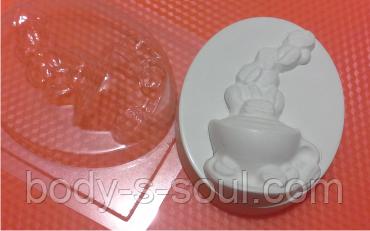 Пластиковая форма для мыла Кружка кофе