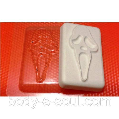 Пластиковая форма для мыла  Крик