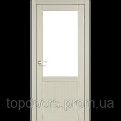 """Двери межкомнатные Корфад """"PL-02 ПО сатин"""""""