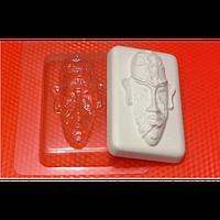 Пластиковая форма для мыла Маска