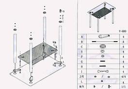 Инструкция по сборке и эксплуатации мебели из стекла