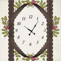 """Часы настенные """"Нежность 2"""""""