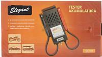 Тестер акб аккумуляторных батарей 6-12В 100490 Elegant
