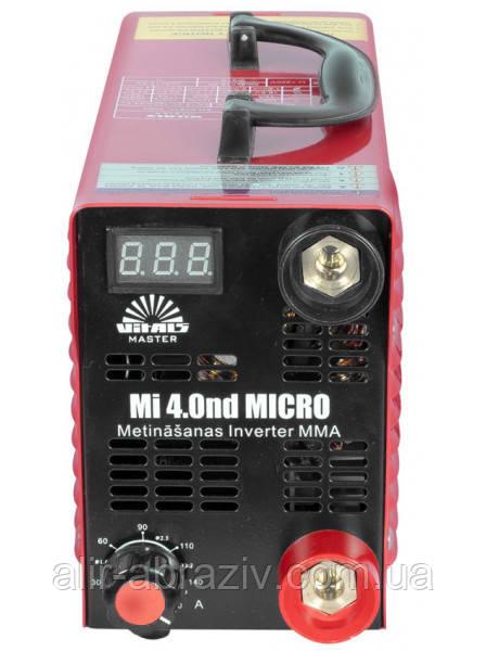 Сварочный аппарат инверторного типа Vitals Master Mi 4.0nd - ООО «Компания «АЛИР» в Днепре