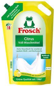 Гель для стирки Frosch Citrus Voll-Waschmittel 1.8л