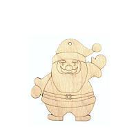 Заготовка Дед Мороз4 фанера 9х10см 4шт ROSA Talent