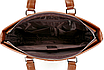 Сумка мужская кожаная Fedika Bolo Коричневая, фото 6