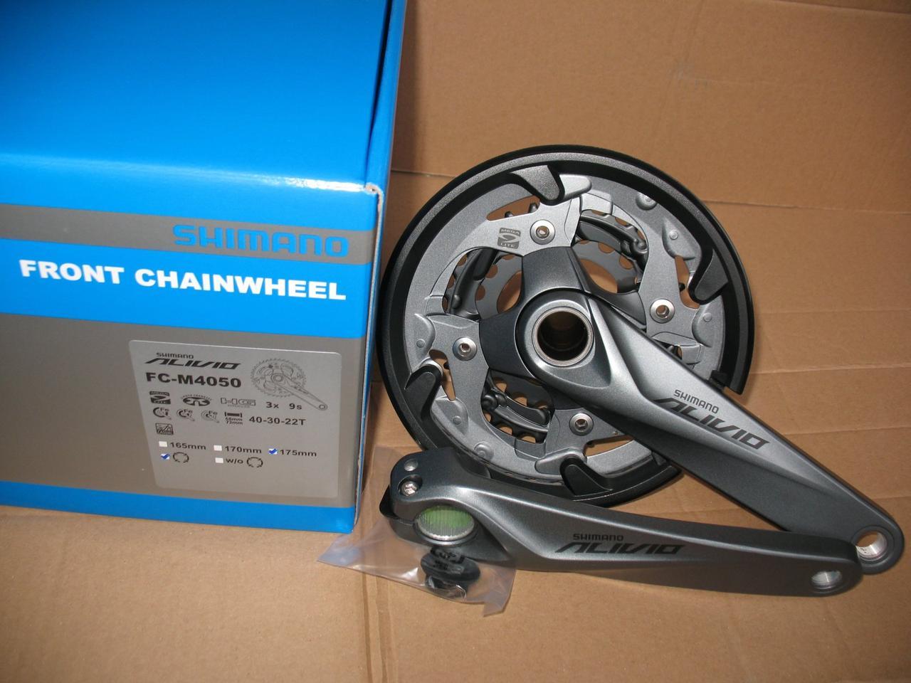 Shimano Alivio Fc M4050 40 30 22t 175mm W Cg Crankset 40t