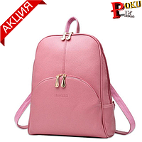 Рюкзак женский кожаный Nevenka с карманом
