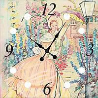 """Часы настенные """"Девушка 3"""""""