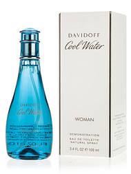 DAVIDOFF COOL WATER WOMEN EDT 100 ml TESTER Туалетная вода женская (оригинал подлинник  Франция)