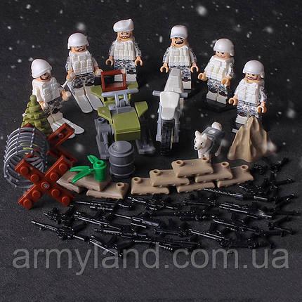Зимний десант военный конструктор , фото 2