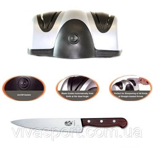 Електрична точилка для ножів Lucky Home Electric Knife Sharpener (Лаки Хоум)