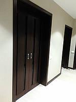 Раздвижные межкомнатные деревянные двери из ясеня