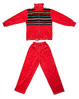Спортивный костюм AVK №5D-1 Красный