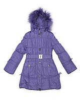 Пальто Levin Force L1816-1 Фиолетовый