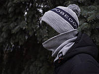 "Зимняя шапка мужская ""Pobedov"""