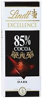 Французский шоколад  Lindt  85 % горький 100 грамм