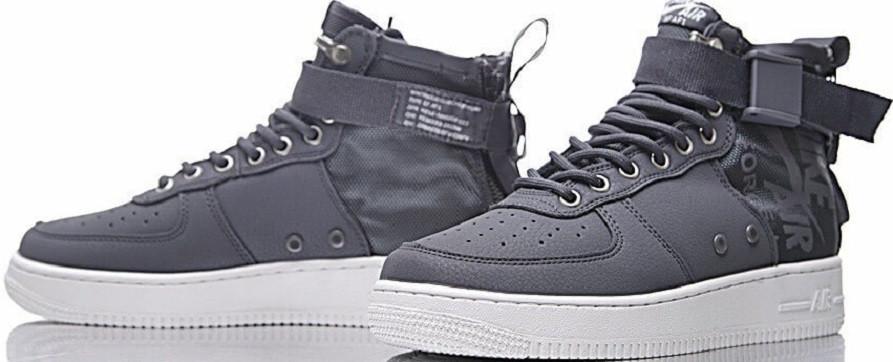 d4cef97f Кроссовки купить Nike SF Air Force 1 Utility Mid Grey/White. - Интернет-