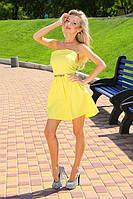 Женское летнее платье без бретелек, фото 1