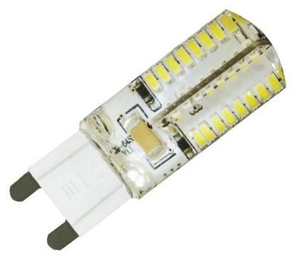 Лампа светодиодная LB-421 230V 3W 64leds   G9 2700K 240Lm