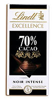 Французский шоколад  Линт Lindt  70 % горький 100 грамм