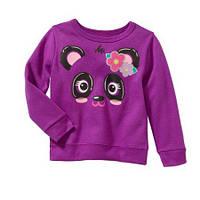 Свитшот на флисе фиолетовый для девочки Garanimals, 2Т, 3Т