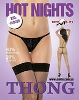 Трусики Hot Nights Black, S, М, L, XL
