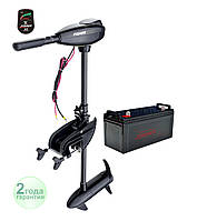 Электромотор Fisher 32 + аккумулятор AGM 90Ah, фото 1