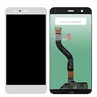 Дисплей (экран) + сенсор (тач скрин) Huawei P10 Lite white (оригинал)