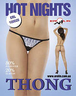 Трусики Hot Nights White, S, М, L, XL