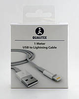 Кабель Lightning (8 pin) USB кабель - Qualitex