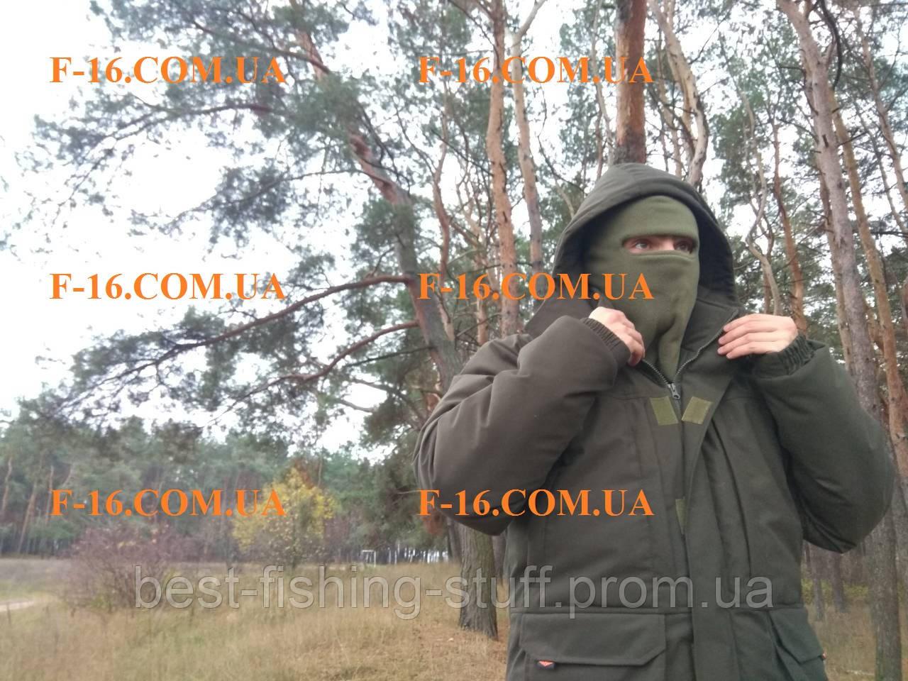 """Зимний костюм для рыбалки и охоты -40* Усиленная Алова """"Хаки"""" на мембране"""