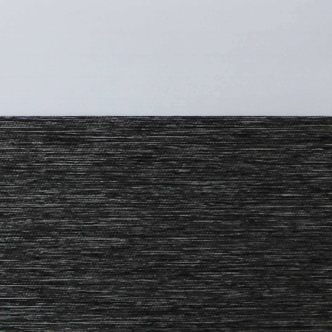 Рулонные шторы День-ночь Ткань Барселона Чёрный жемчуг