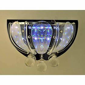 Бра хромовое галоген со светодиодами VL-12324/3