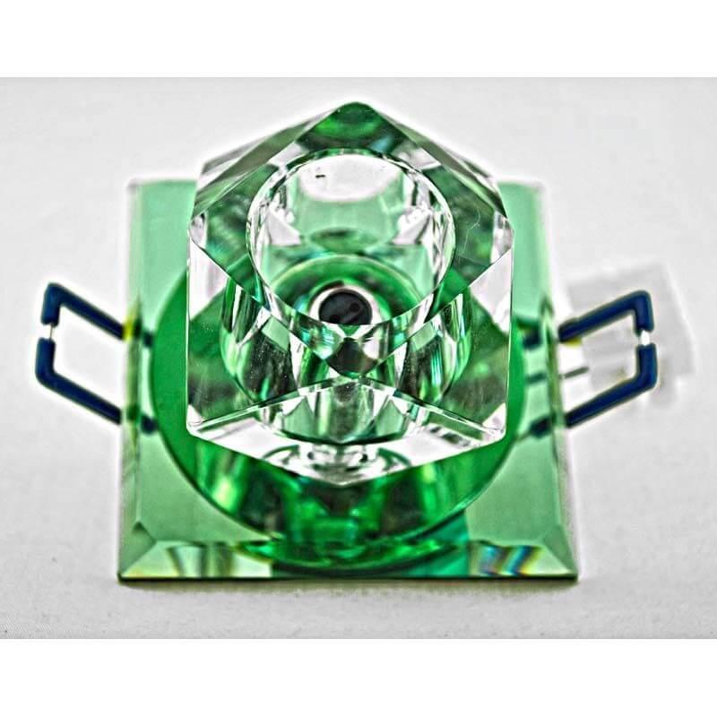 Встраиваемый светильник Серебро на хроме 12285/1S CG GN CL