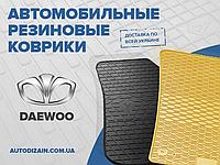 Резиновые автоковры на DAEWOO Nexia 95-08- (design 2016)