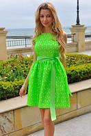 Женское летнее платье сочных цветов, фото 1
