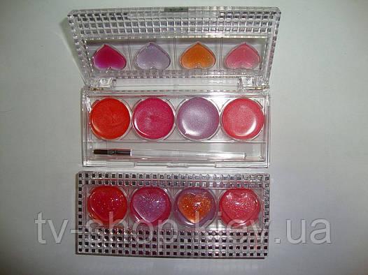 Набор блеска для губ 8 в 1 Fruit candy