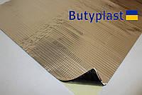 Виброизоляция Butyplast Ф-4 4мм 500х600мм, 100мкм