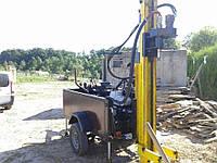 Гидравлическая буровая установка на самоходном прицепе ГБДУ-100П