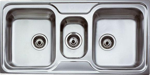 Мойка кухонная TEKA CLASSIC 2 1/2B полированная