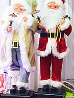 Новогодняя Статуэтка Анимационная Игрушка Санта Клаус Музыкальная Игрушка Santa Claus под Елку 60 см
