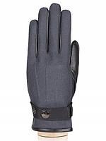Комбинированные мужские перчатки в 2х цветах IS909