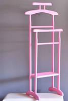 Вешалка напольная Альфа-pink