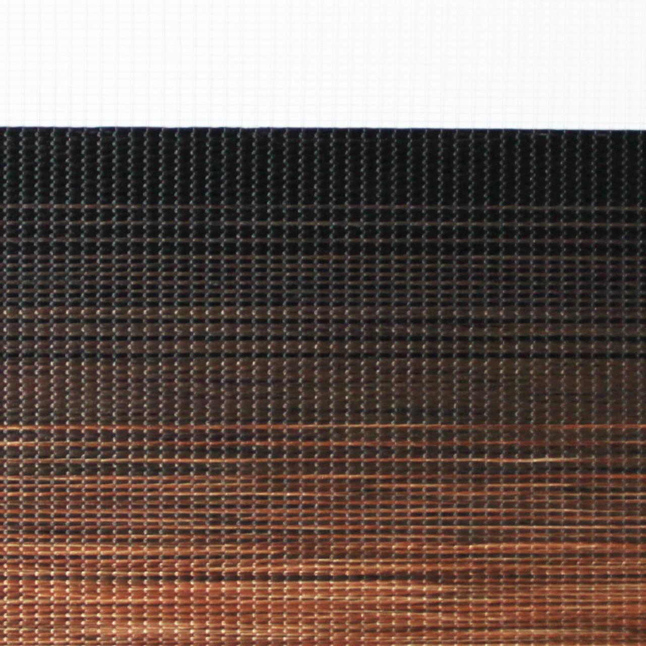 Рулонные шторы День-ночь Ткань Багамы Шоколад