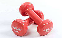 Гантели для фитнеса с виниловым покрытием Beauty (2x1,5кг) TA-5225-1,5(C)